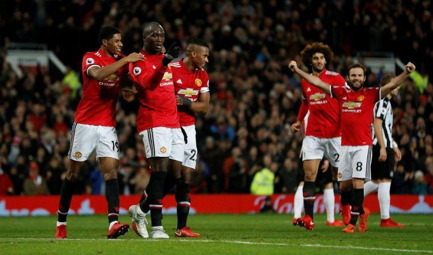 Sevilla Man Utd Ucl 2018 Manchester United Team Manchester United Official Manchester United Website