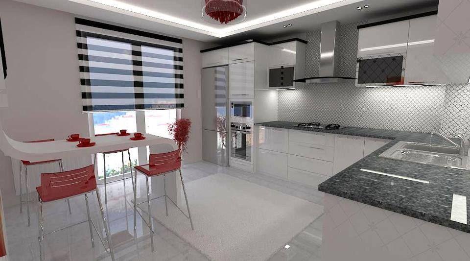 Beyaz mutfak dekor #mutfak #dekor