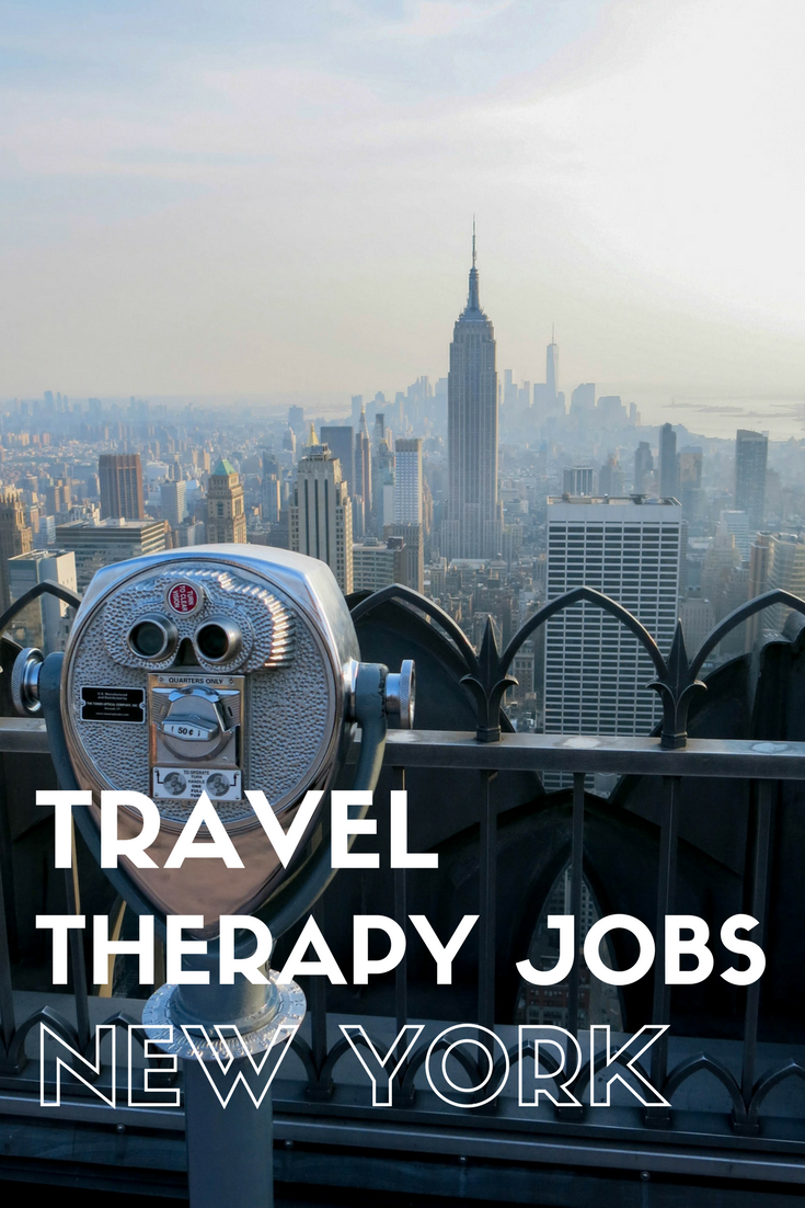 Find The Latest Travel PT, OT And SLP Jobs In New York
