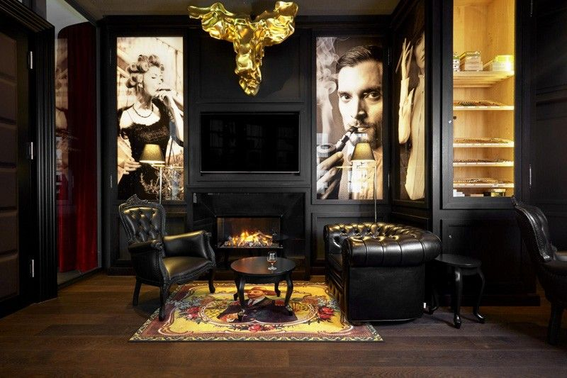 Marcel Wanders has designed the interiors of the 245 suite Kameha ...