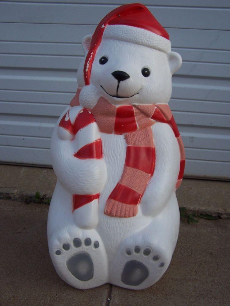 42 christmas blow mold yard decor 28 teddy polar bear plastic light 42 christmas blow mold yard decor 28 teddy polar bear plastic light up display mozeypictures Image collections