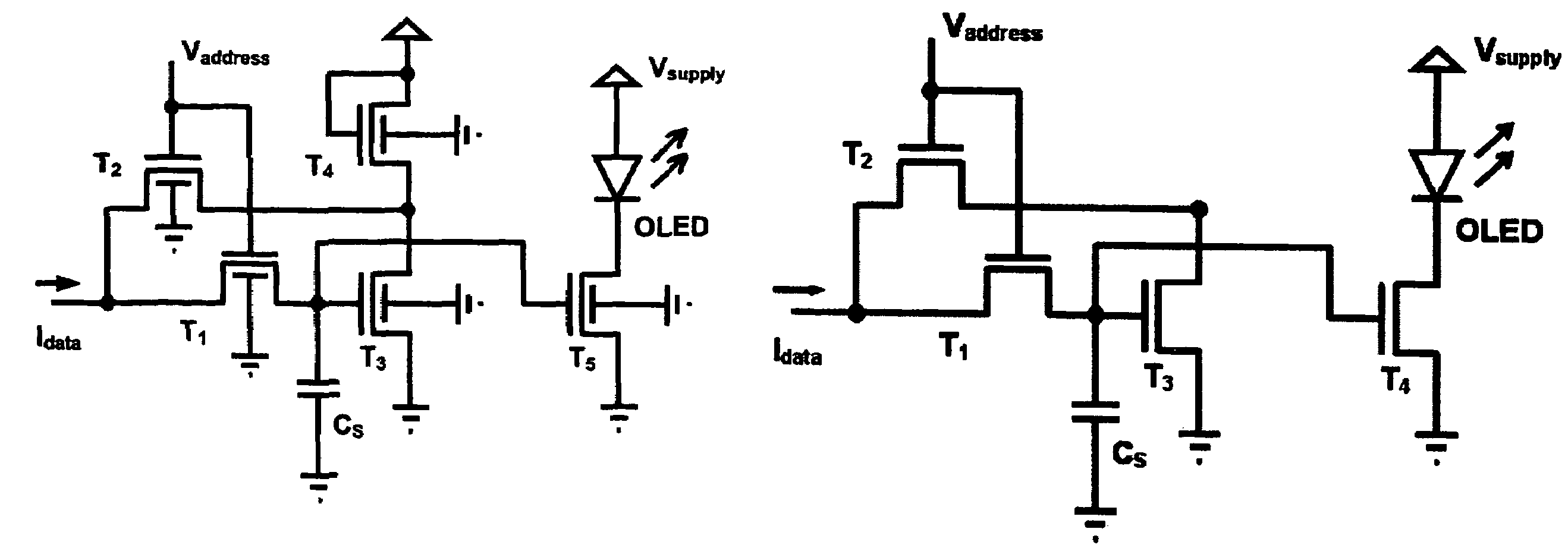 Pixel Driver Circuit And Having The Circuitdrivercircuitjpg