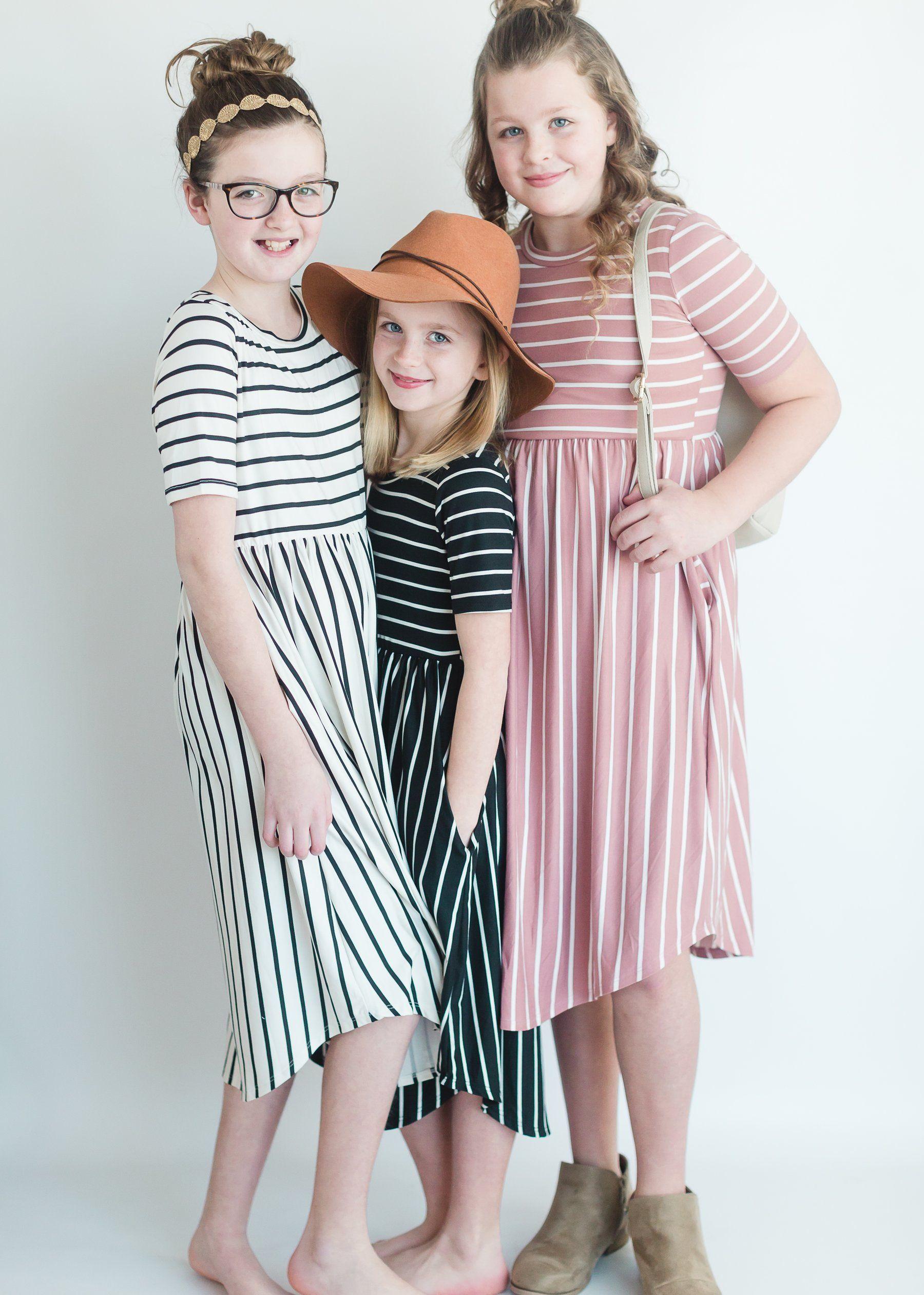c44cea10f1 Modest Girls Everly Midi Dress   Inherit Clothing Company – Inherit Co.