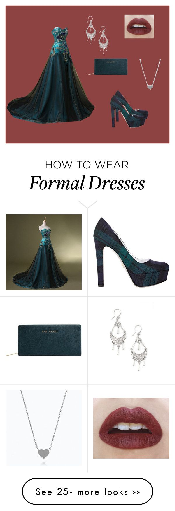 """""""Hi"""" by alessandra-derossi on Polyvore  Yes! But change the necklace to diamonds or sapphires."""