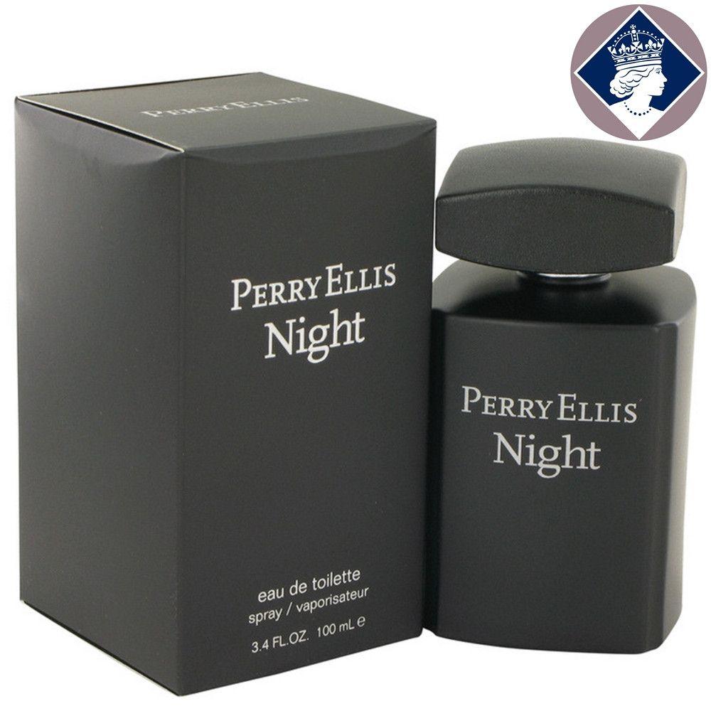 Perry Ellis Night 100ml/3.4oz Eau De Toilette Spray Cologne Fragrance for Men