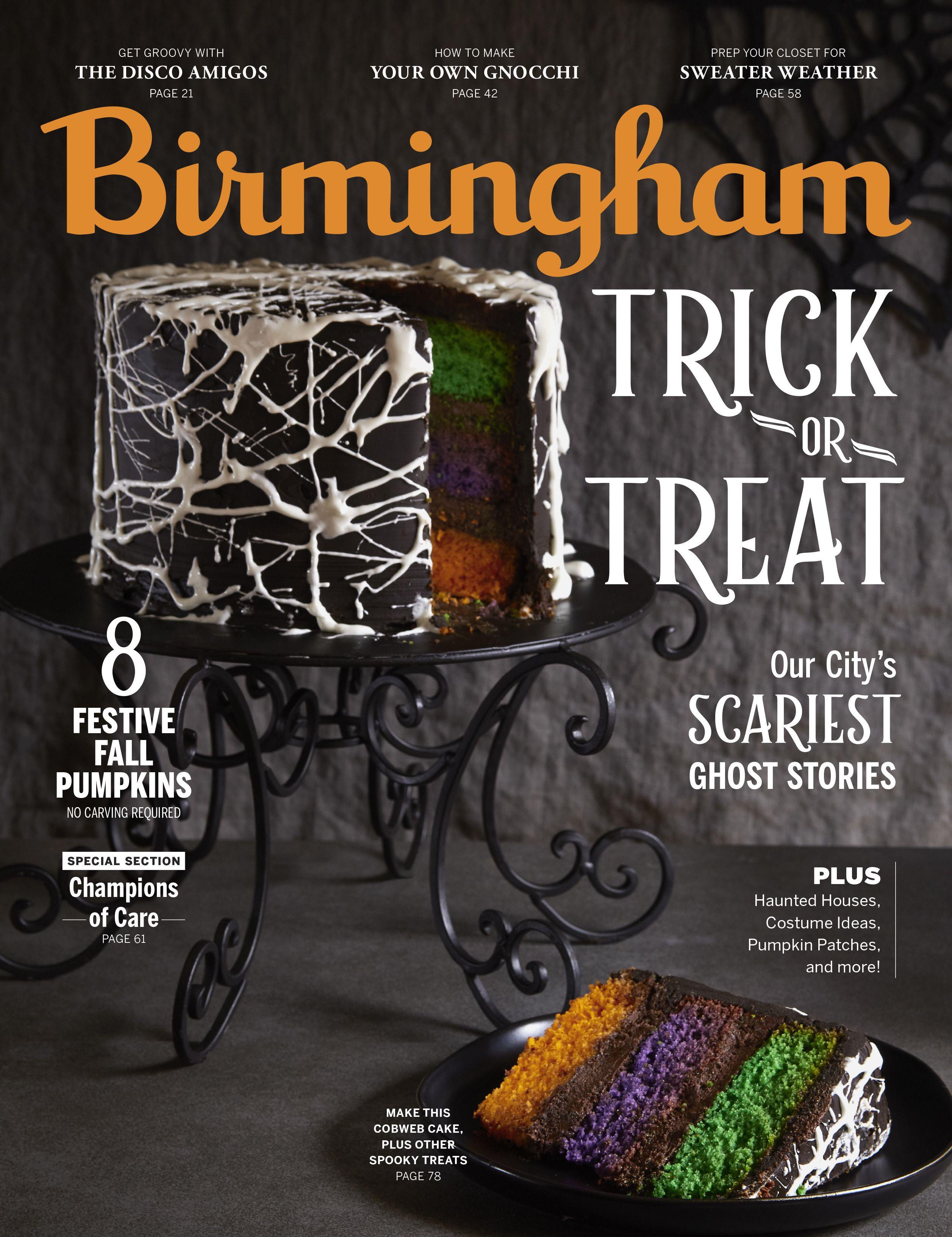 Treats Magazine Halloween 2020 Birmingham magazine October 2019 // The Trick or Treat Issue in
