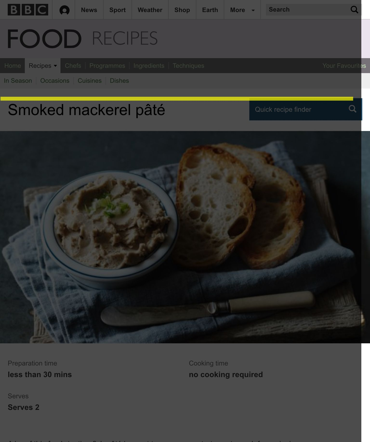 Smoked Mackerel Pate Recipe Smoked Mackerel Smoke And Picnics
