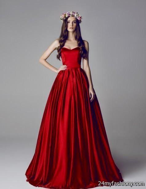 Red dresses elegant tumblr