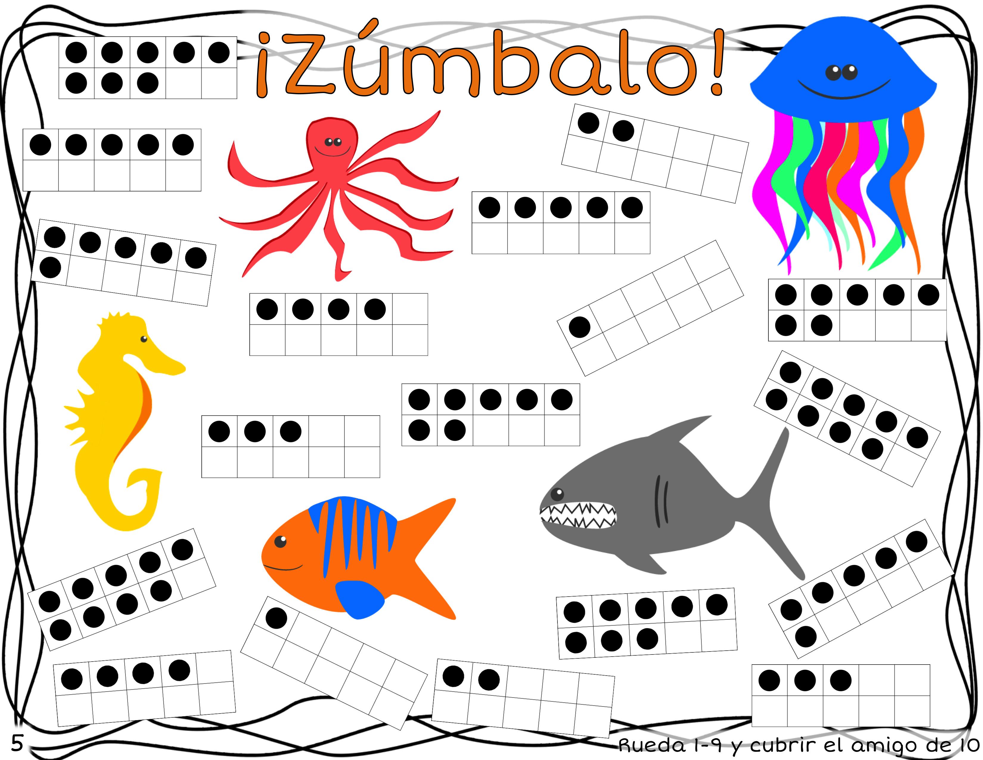 Zumbalo 20 Bump Math Games In Spanish