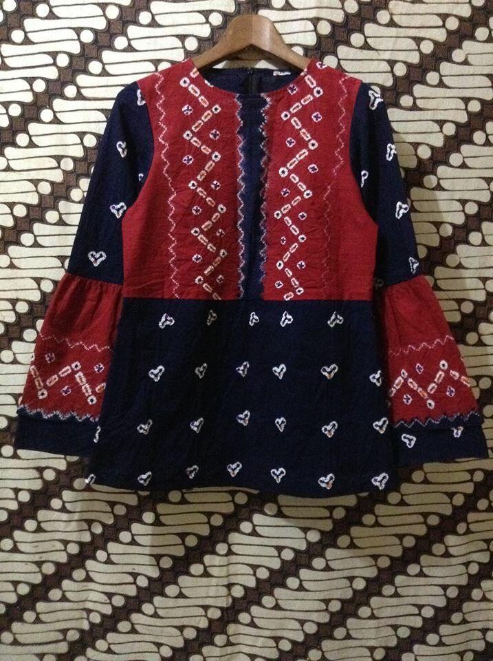 Model Baju Batik Motif Jumputan - Batik Indonesia