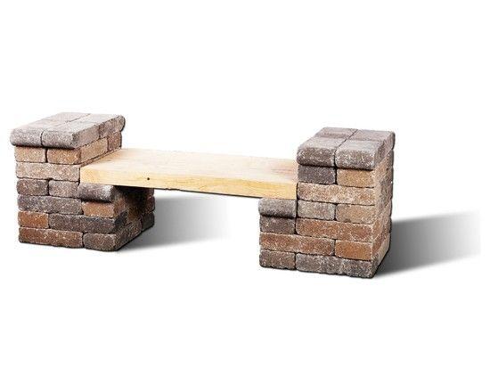 13 ideas con ladrillos para el jard n interiors for Muebles cantero
