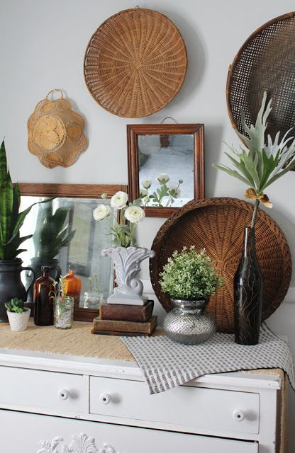 Thrift The Look- Boho Decor #thriftstorefinds