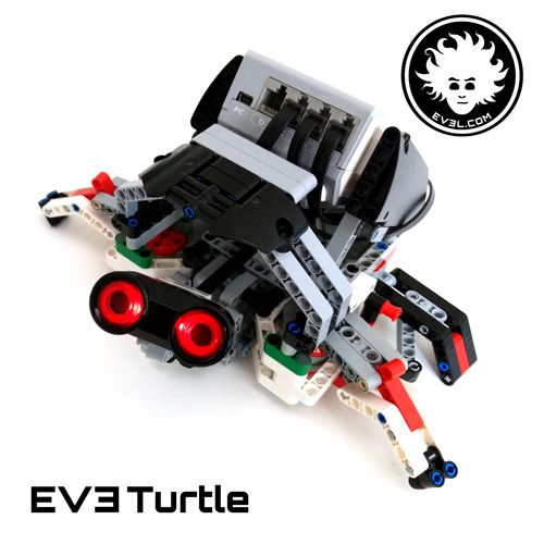 A Lego Mindstorms Education Ev3 Turtle Ev3 Robot Pinterest