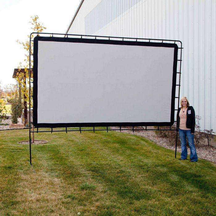 Outdoor Entertainment Gear Backyard Big Movie Projection Screen