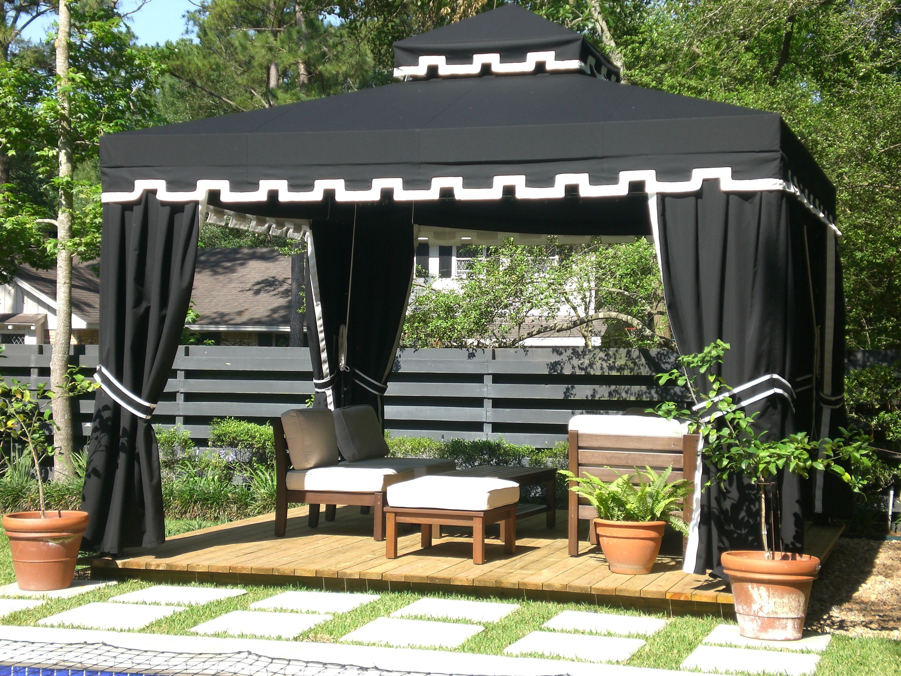 Sunbrella Gazebo With Images Canopy Outdoor Outdoor Living