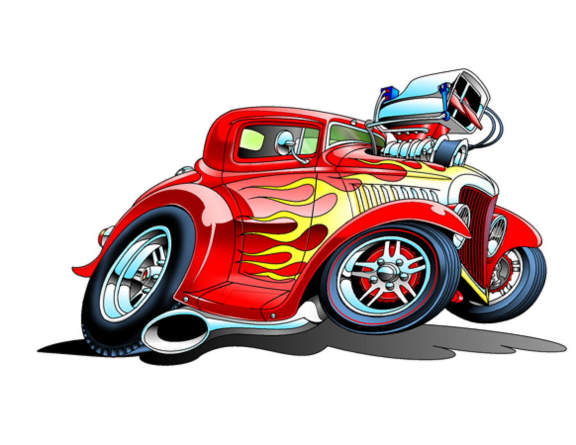 Pin by Benny Martinez on HOT ROD ART WORK Car cartoon
