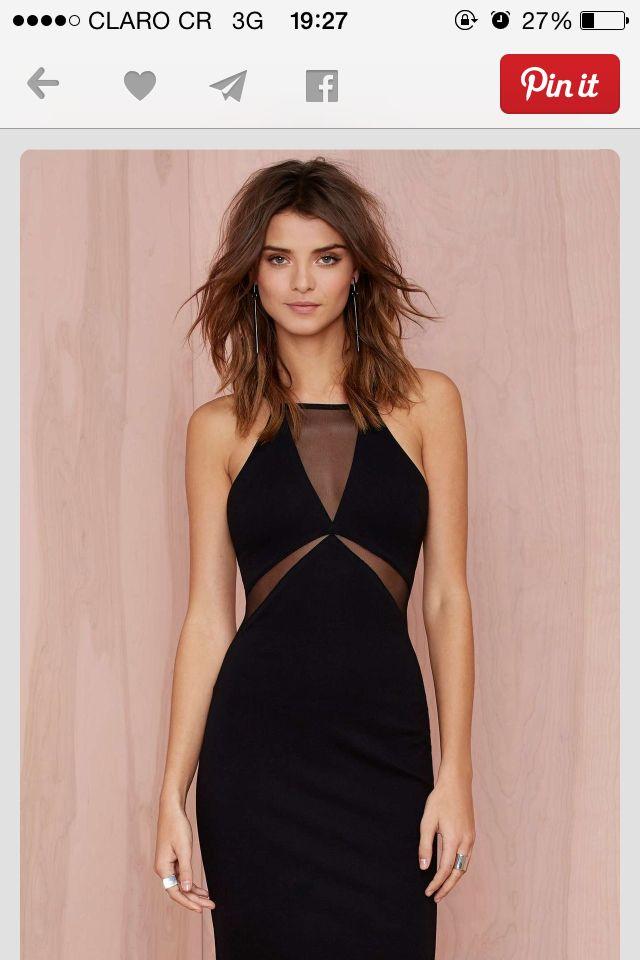 8b265d5cb098 Simple transparency. Simple transparency Little Black Dresses, Little Black Dress  Classy ...