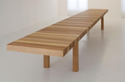 Jean Nouvel, KM table by Unifor Design di mobili, Mobili