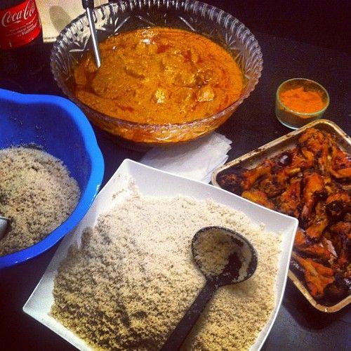"""Comment: breen__b said """"Fonio mafe - Dakar in Ottawa #senegal #food"""