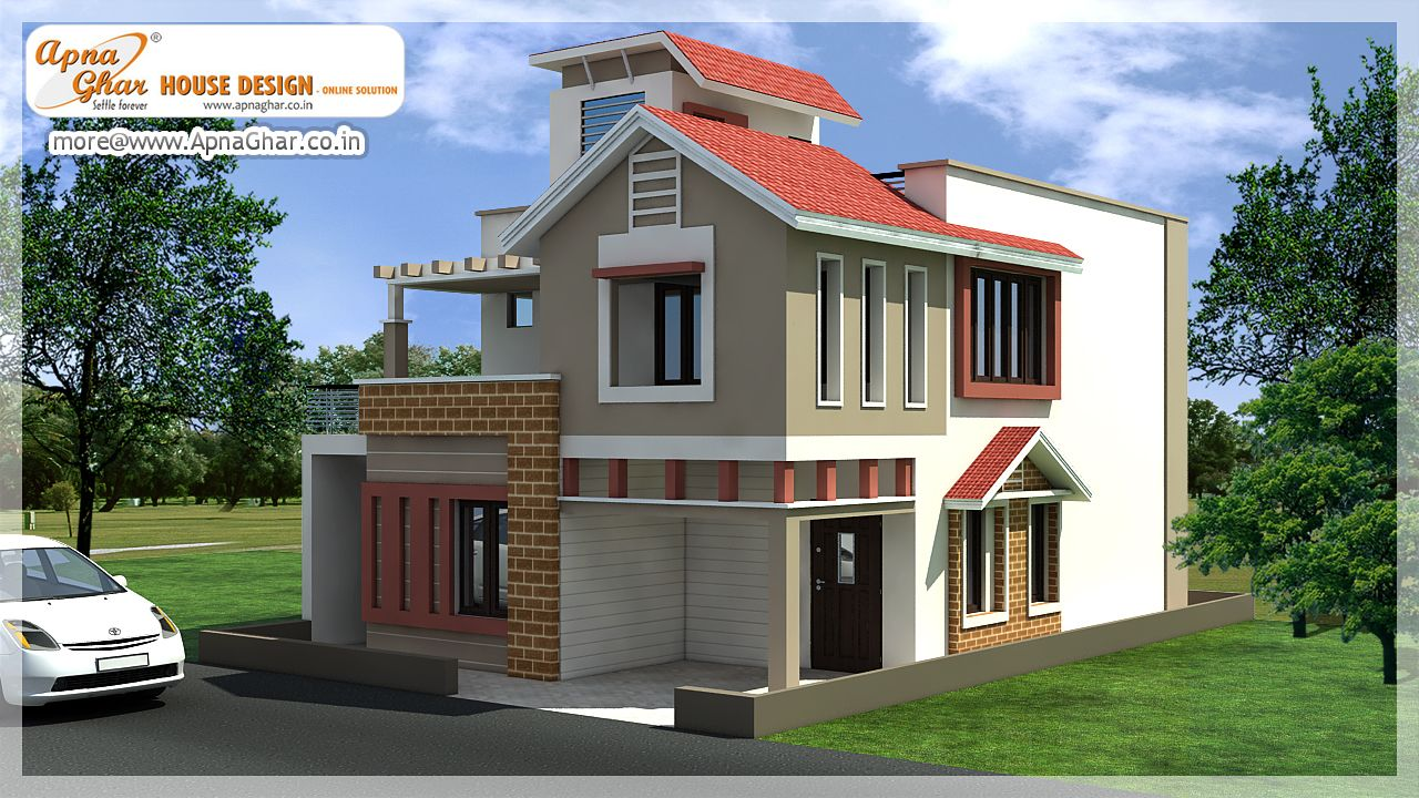 4 Bedrooms Duplex 2 Floors House Design In 150m2 10m X