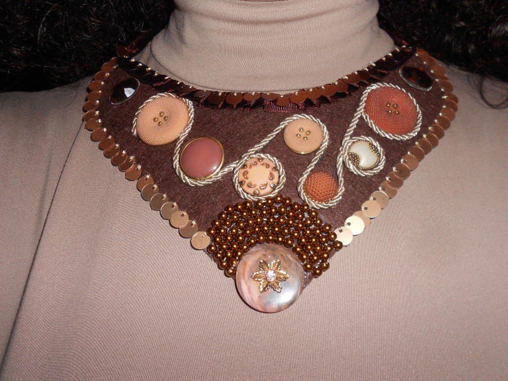 bijuterias com botões - Pesquisa Google