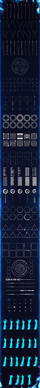 VFX elements | Motion Graphic | User interface design, App