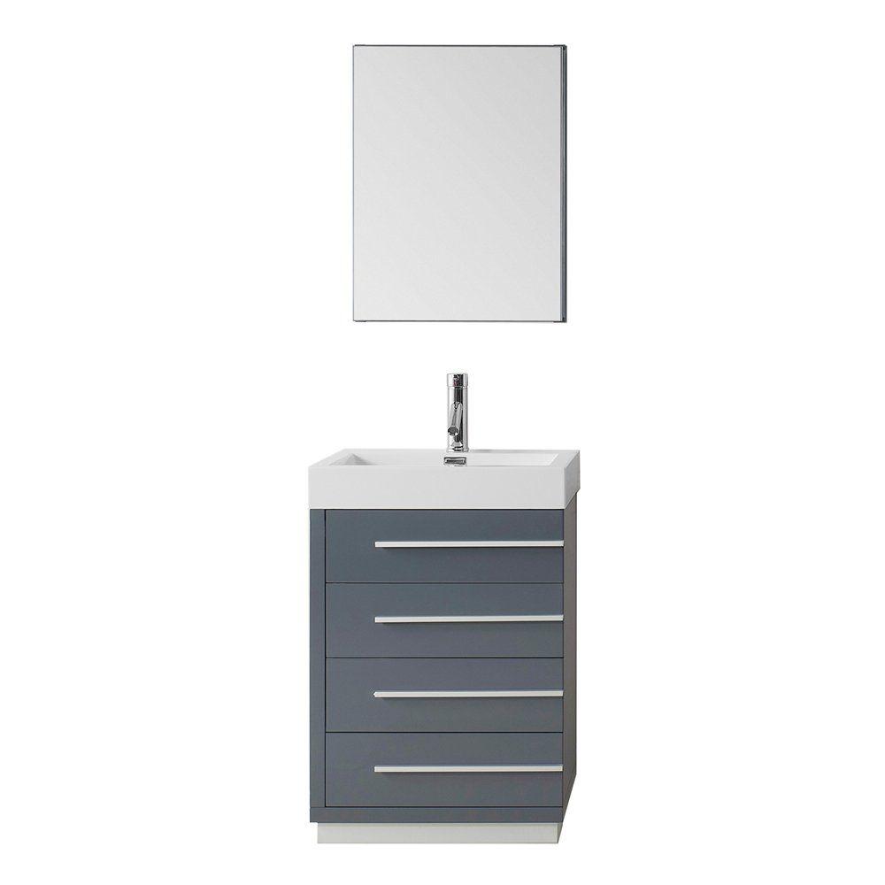 Shop Virtu USA JS-505 Bailey Single Bathroom Vanity Cabinet at ATG ...