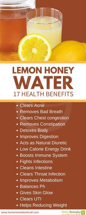 Drink Lemon Honey Water To Detox Your Body And Become Healthy And Fit Again Healthy Detox Honey And Lemon Drink Honey Lemon Water