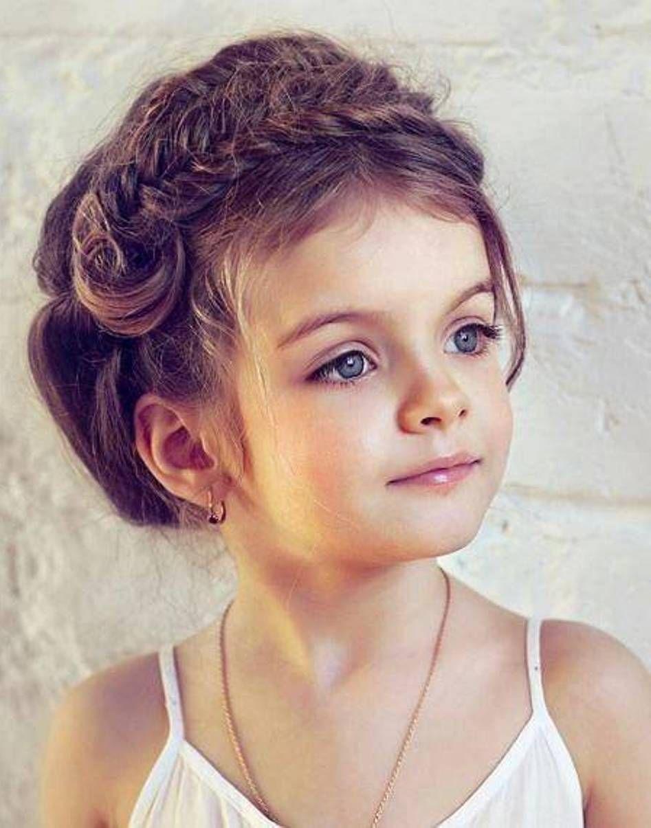 Barnefrisyrer | Barnefrisyrer | Pinterest | Girl hairstyles, Updo ...