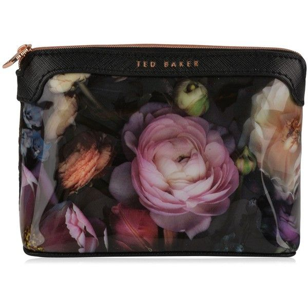 Ted Baker Jeanie Wash bag ($27) ❤ liked on Polyvore featuring beauty products, beauty accessories, bags & cases, makeup bag case, travel bag, cosmetic bag, toiletry kits and makeup purse