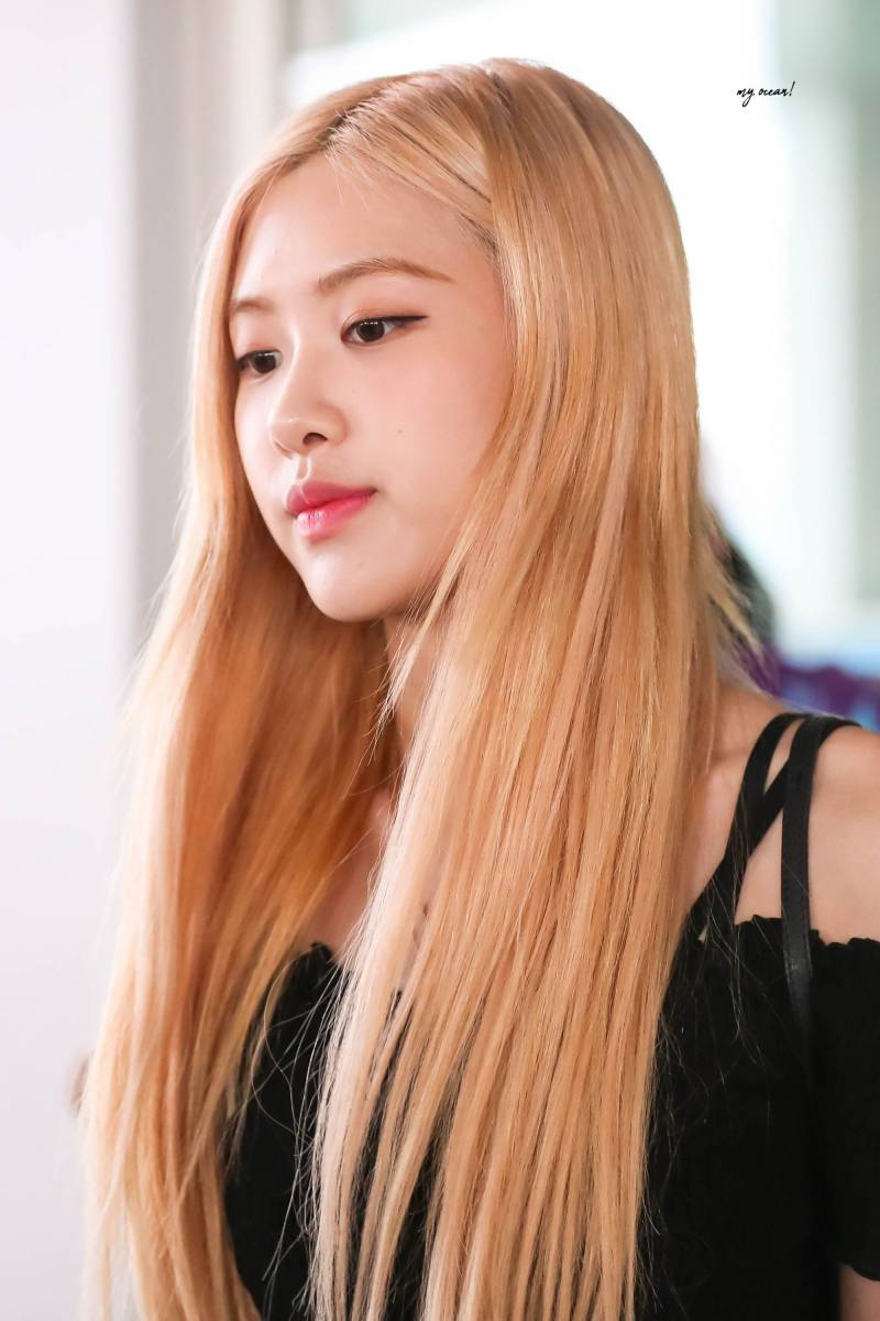 190723 Blackpink Rose Kpop Hair Color Bts Hair Colors Kpop Hair