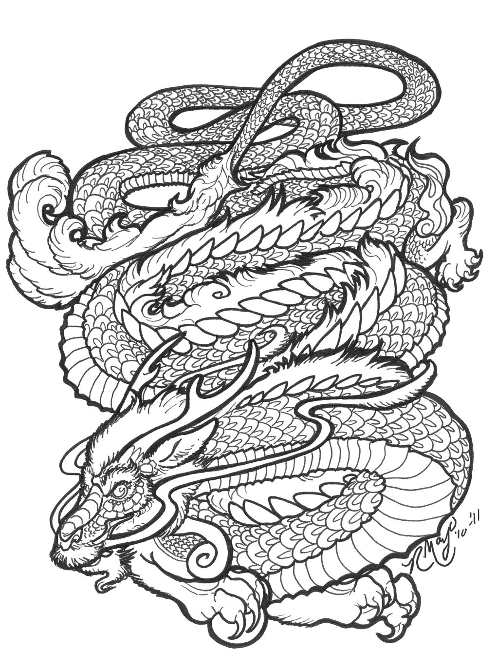 36 drachen mandala zum ausmalen  besten bilder von