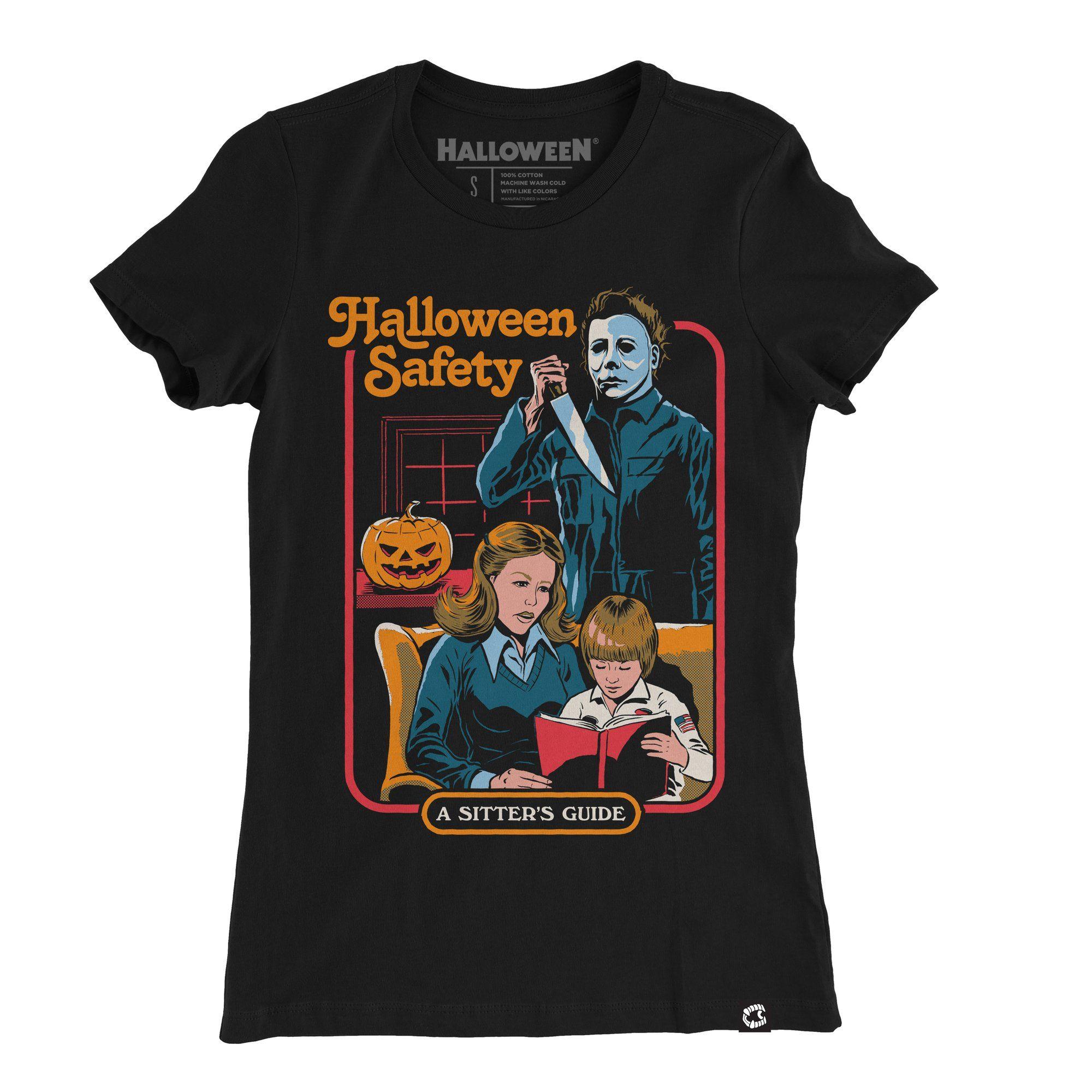Halloween® Safety Ladies Tee in 2020 Halloween safety