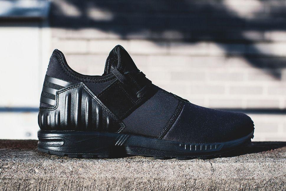 adidas zx flux plus triple black eu kicks sneaker magazine adidas zx flux sneaker magazine sneakers