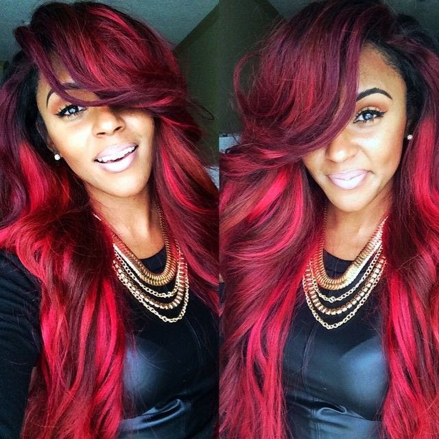 Ombre Hair Color for Black Women (7)