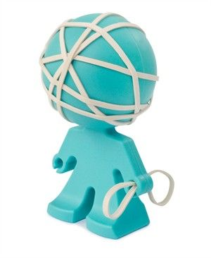 Love This Guy Rubber Bands Cool Office Supplies Office Gadgets