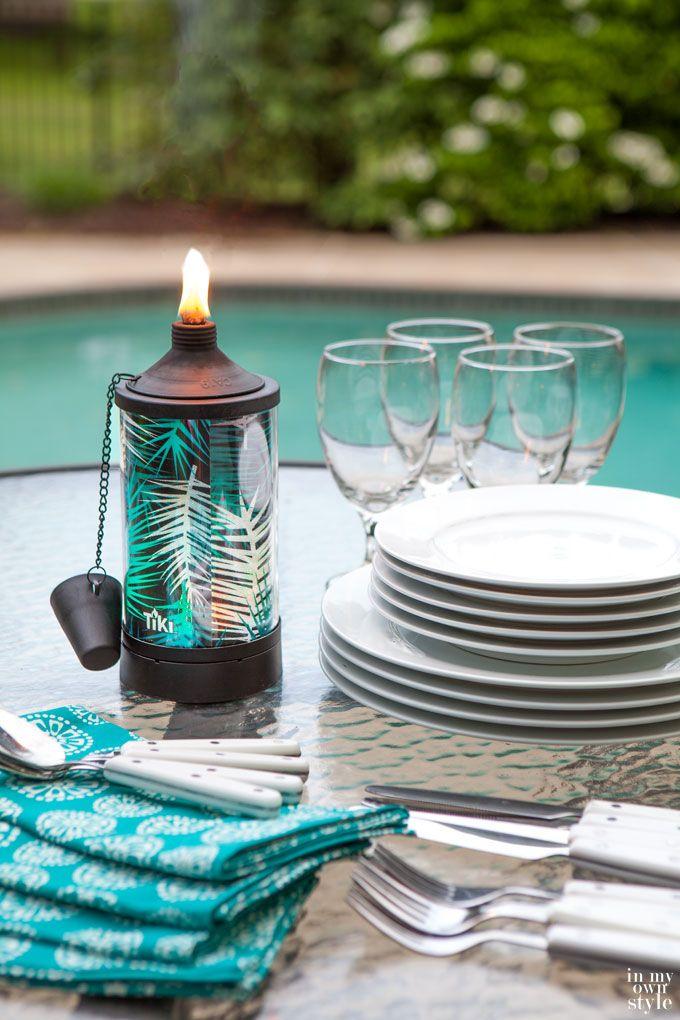 Outdoor Party lighting ideas | Outdoor Entertaining Tips ...