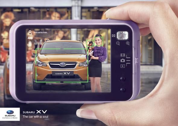 Subaru XV: Faces | #ads #marketing #creative #werbung #print #advertising #campaign < found on www.adsoftheworld.com pinned by www.BlickeDeeler.de | Follow us on www.facebook.com/blickedeeler