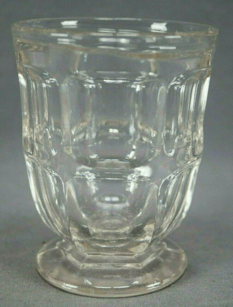 Boston /& Sandwich Co Glass Morning Glory EAPG Water Goblet s
