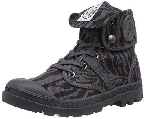Palladium Pallabrouse Baggy Ex, Damen Desert Boots, Grau (dk Gray/mjve Dsrt 094), 37 Eu (4 Damen Uk)