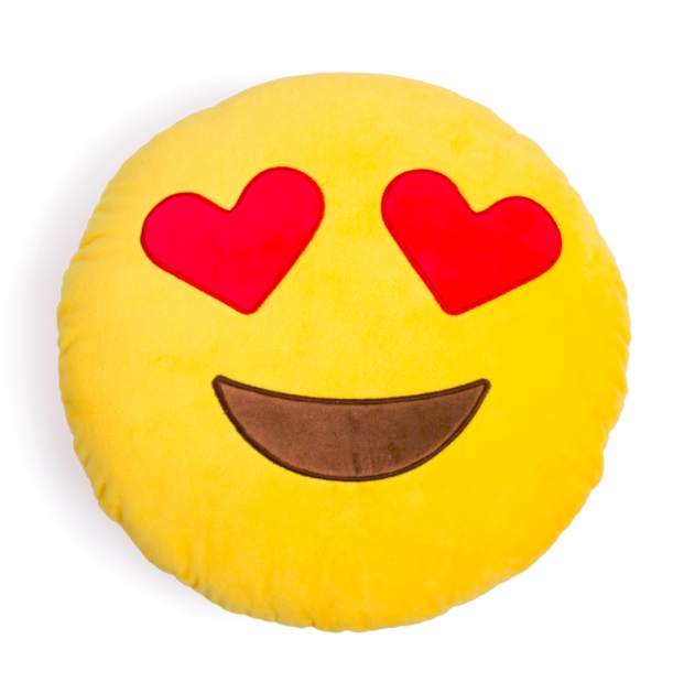 Emoji Pillows Are Made With Super Soft Plush Filled With Polyester Fibres With Images Emoji Pillows Plush Emoji Eyes Emoji