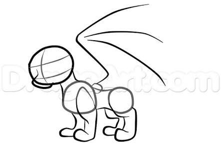 easy to draw baby dragons ile ilgili gorsel sonucu