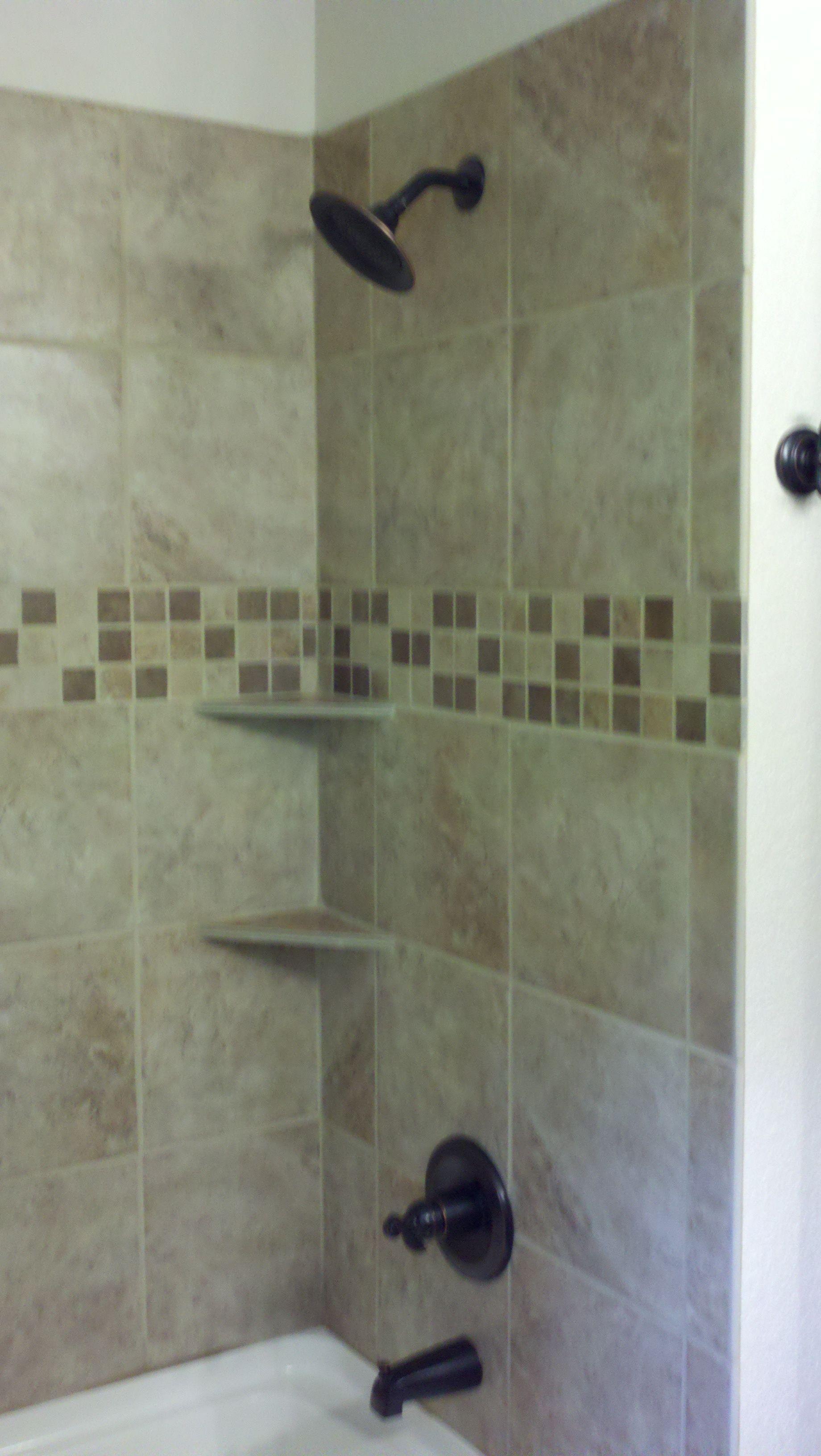 Porcelain Tile W Ceramic Mosaics Jc My Builds