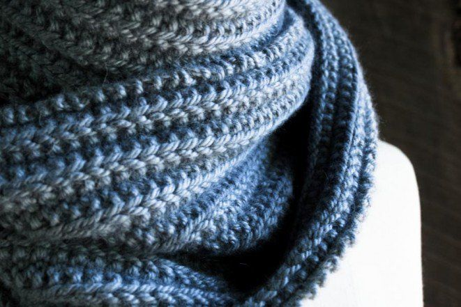 No Purl Ribbed Scarf Knitted Dishcloth Patterns Pinterest Purl