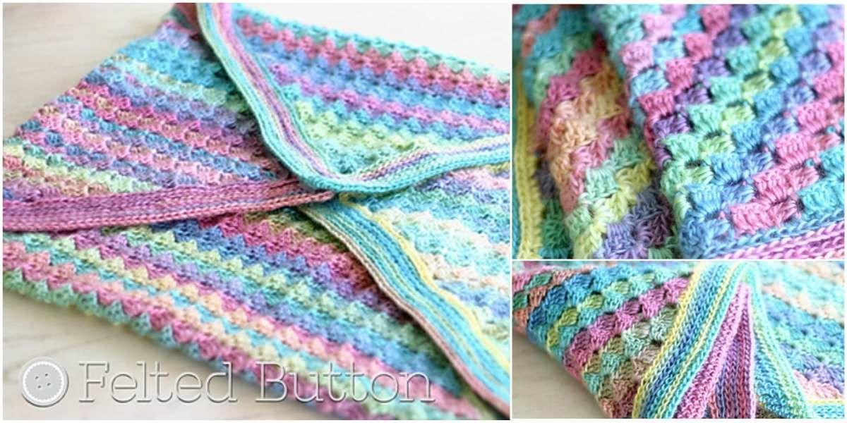 Spring into Summer C2C Baby Blanket [Free Crochet Pattern]
