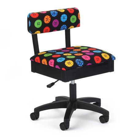 Arrow Adjustable Height Swivel Sewing and Craft Ch