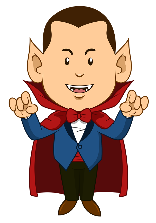 Cute Dracula Clipart This Cute Cartoon Clip Art Of