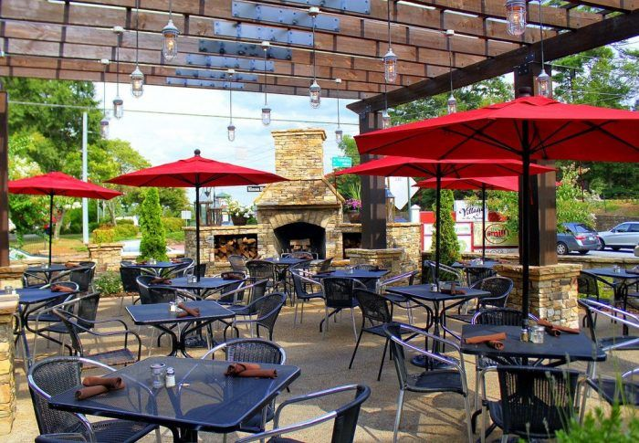 Try These 11 Georgia Restaurants For A Magical Outdoor Dining Experience Outdoor Restaurant Patio Restaurants Outdoor Seating Outdoor Restaurant