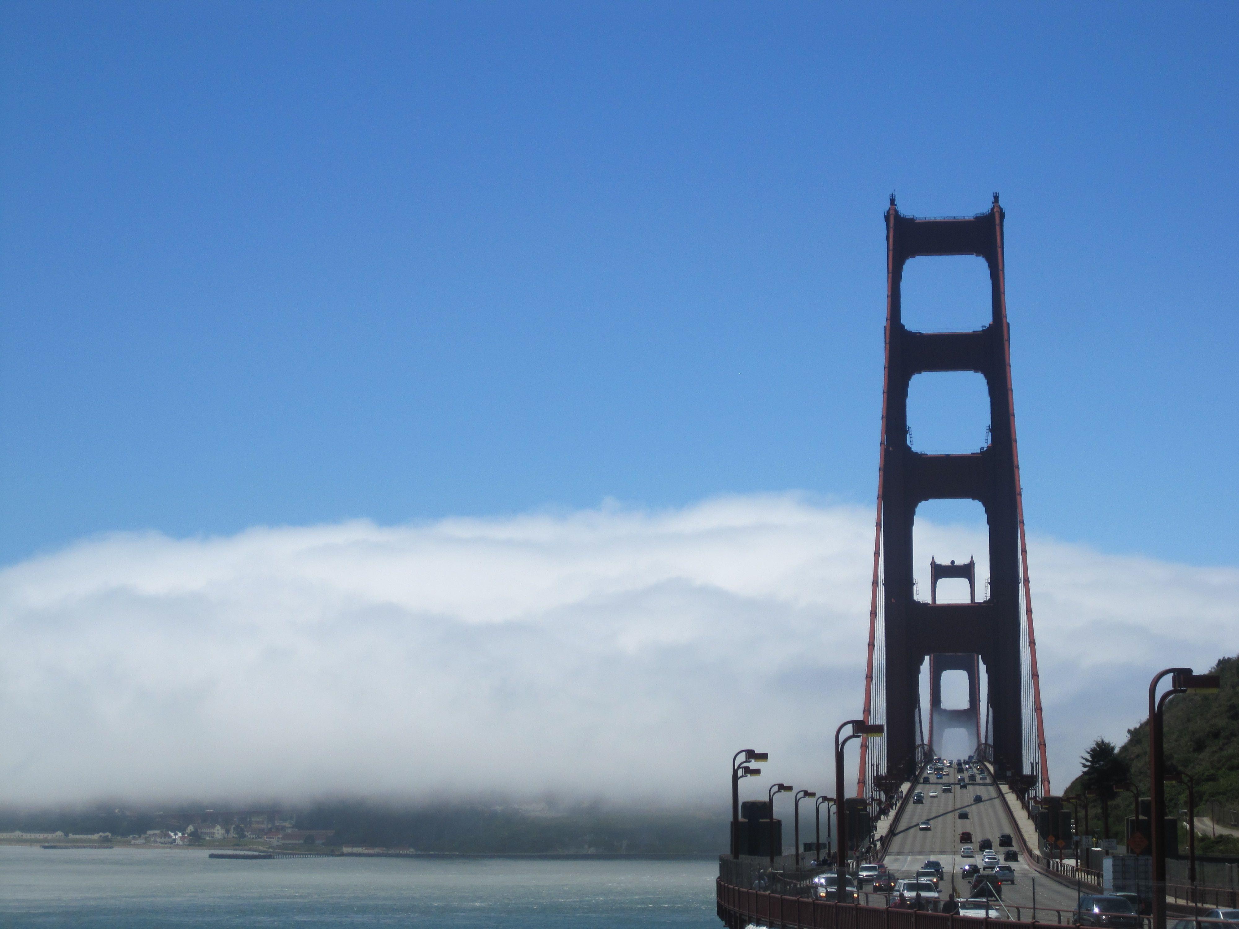 Road trip Golden gate bridge