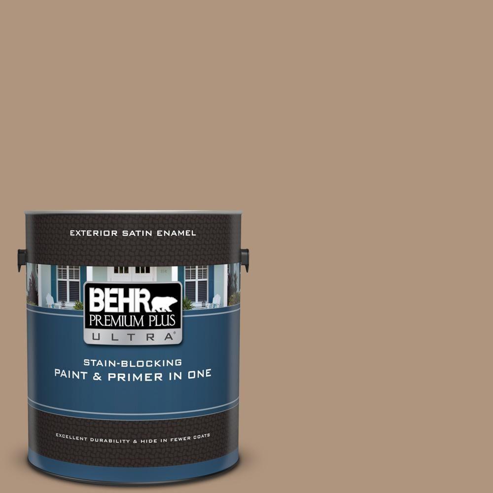 Behr Premium Plus Ultra 1 Gal Ul140 8 Soft Chamois Behr Premium Plus Ultra Interior Paint Behr